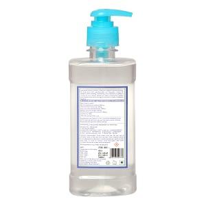 earthvedic instant hand sanitizer gel-back