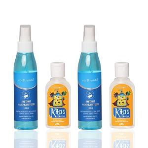 Family Pack-earthvedic-sanitizer