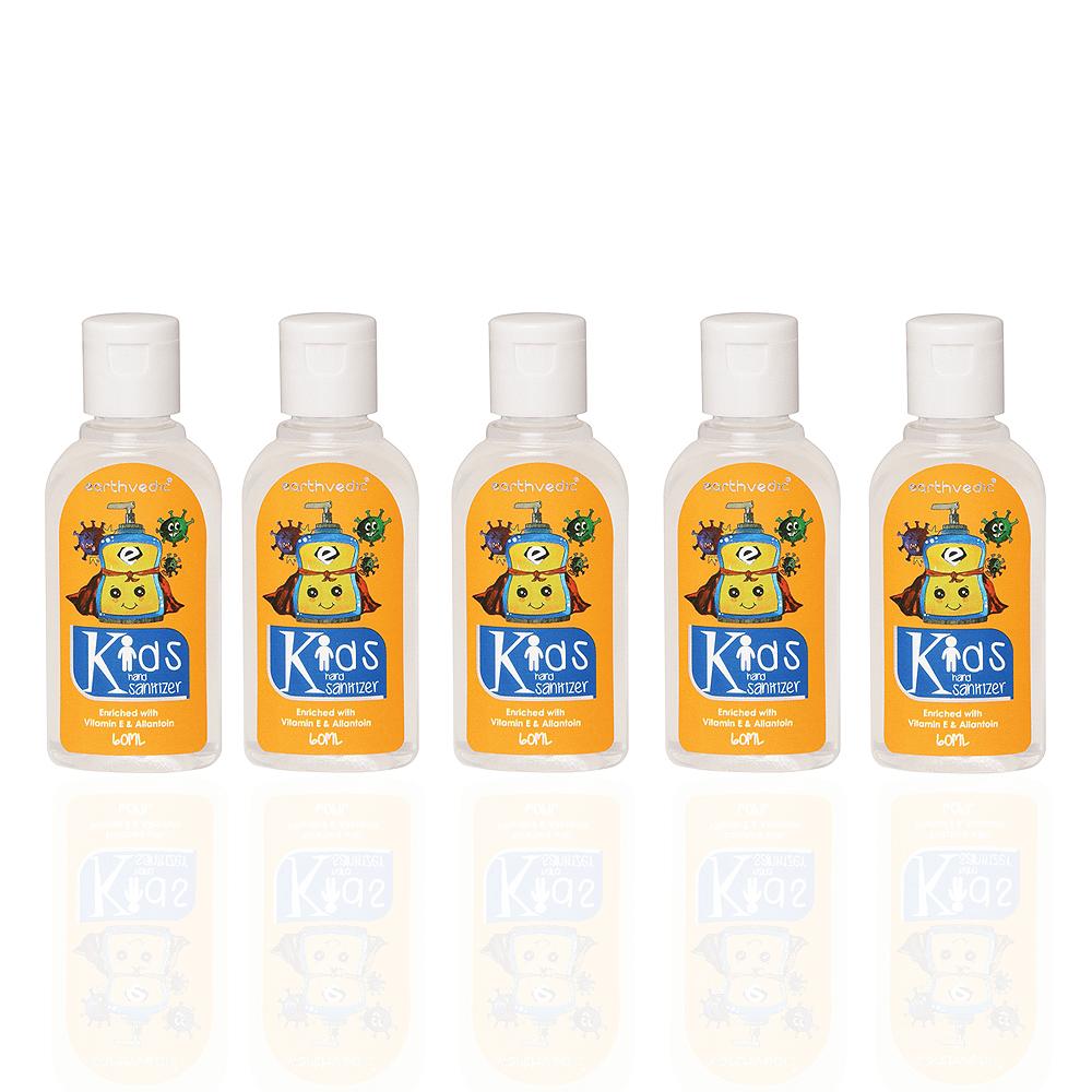 earthvedic-kids-sanitizer-pack of 5