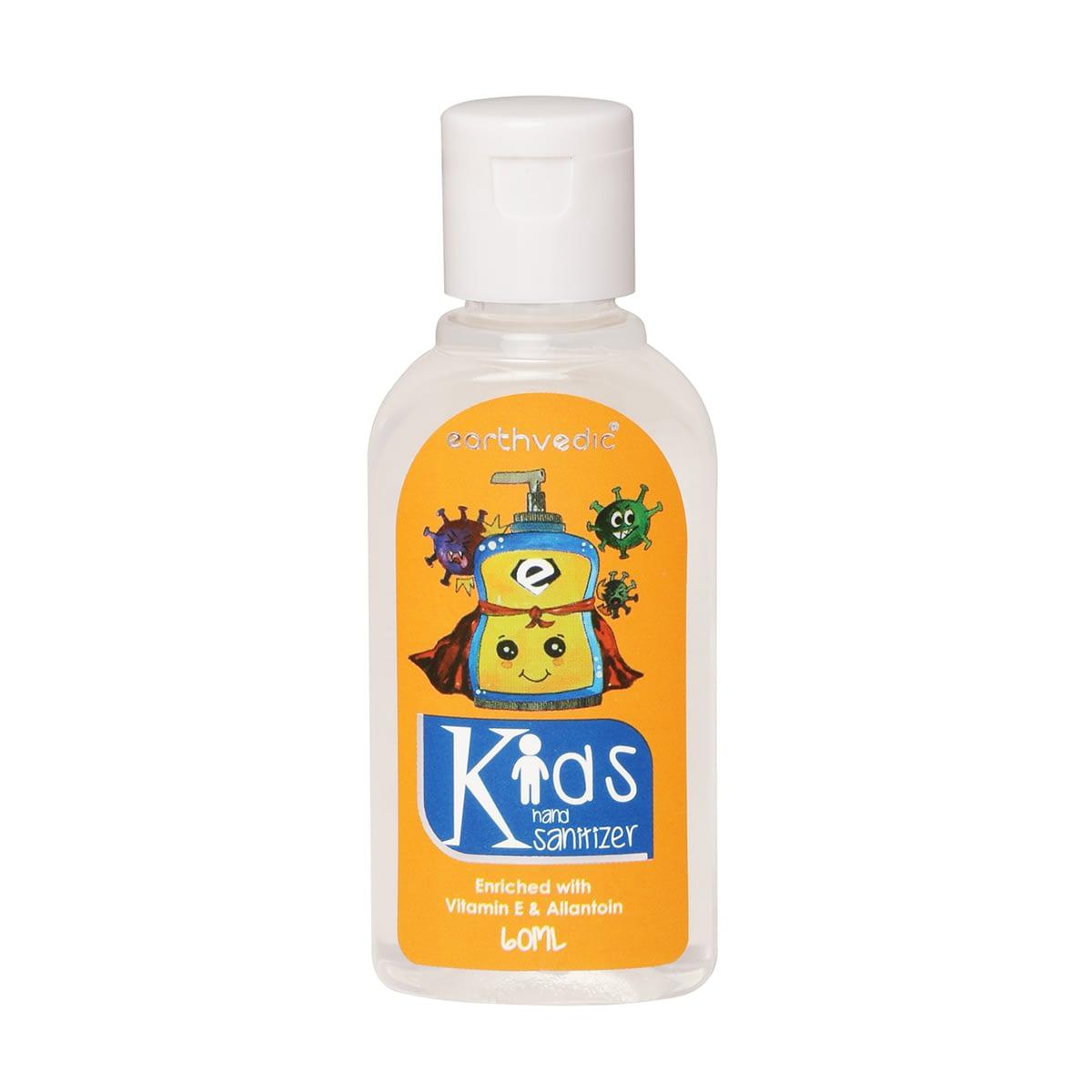 earthvedic kids sanitizer-front